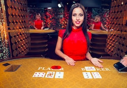 evolution live casino baccarat