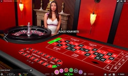 evolution live casino ruletti