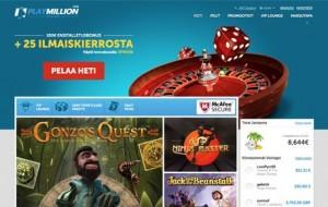 PlayMillion Casino kokemuksia