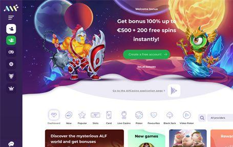 Alf casino kokemuksia ja arvostelu 2019 Screenshot