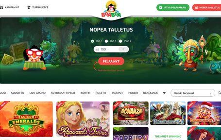 BoaBoa Kokemuksia & Arvostelu 2019 Screenshot