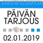 Casino tarjous 02.01.2019