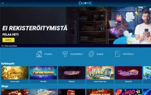 Casonic Casino arvostelu ja kokemuksia