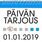 Päivän Casino Tarjous 01.01.2019