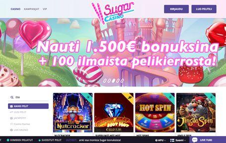 Sugar Casino arvostelu ja kokemuksia Screenshot