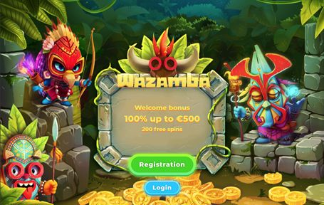 Wazamba Casino Arvostelu ja Kokemuksia 2019 Screenshot