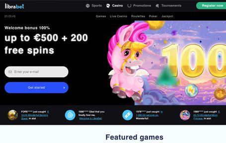 Librabet casino kokemuksia ja arvostelu Screenshot